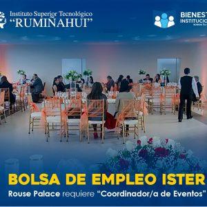 Rouse Palace – Coordinador/a de eventos